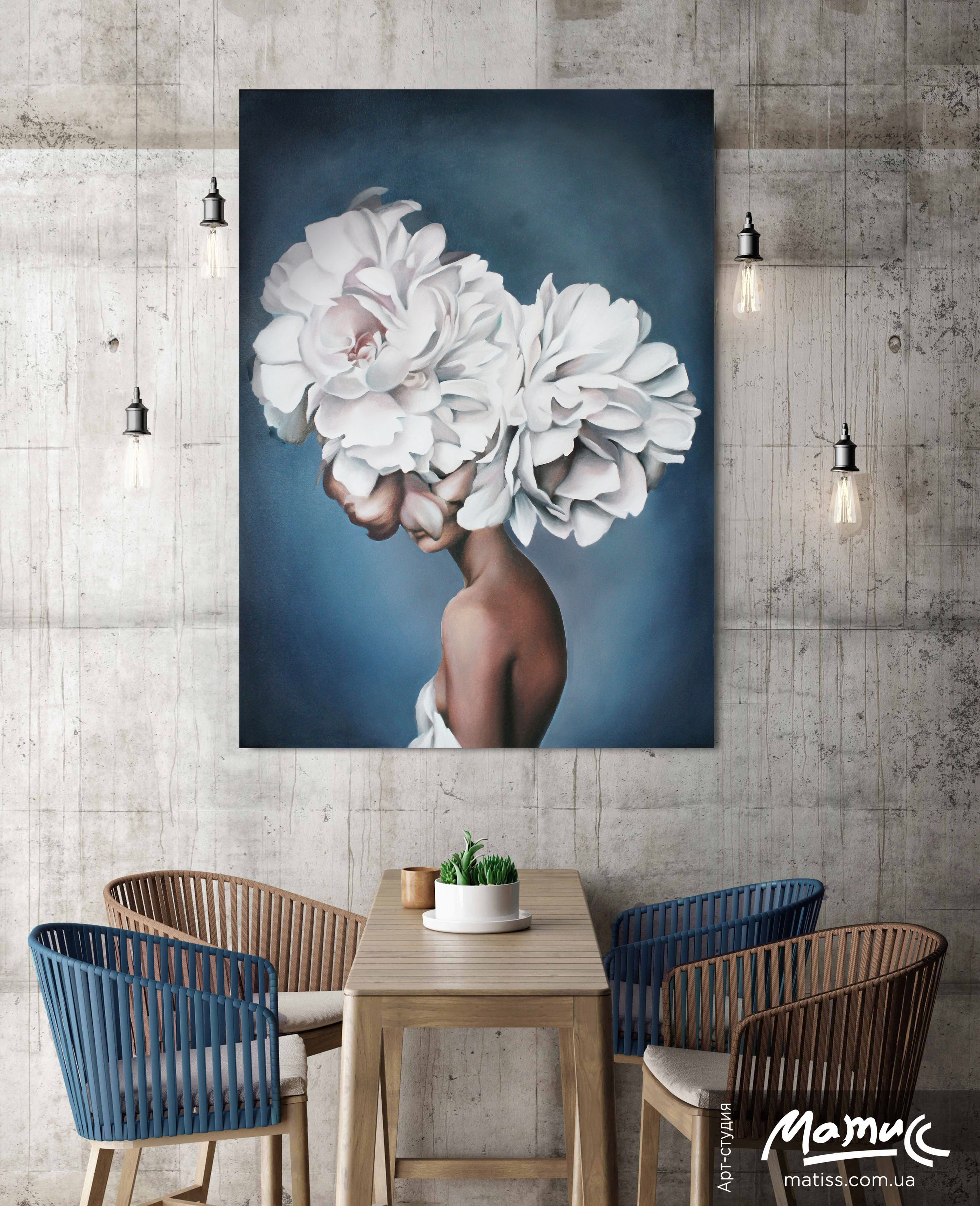 Lady flower. Based on Amy Judd