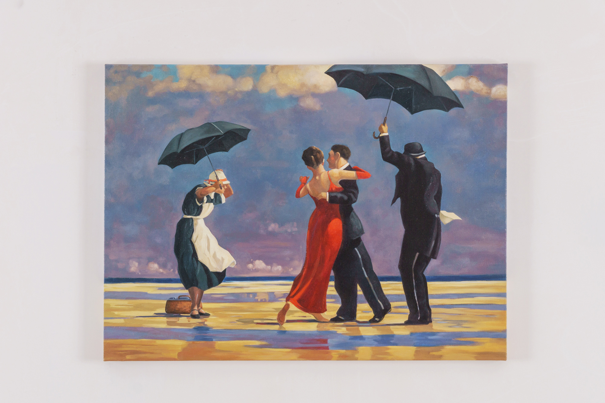 Dancing butler (based on Vettriano)