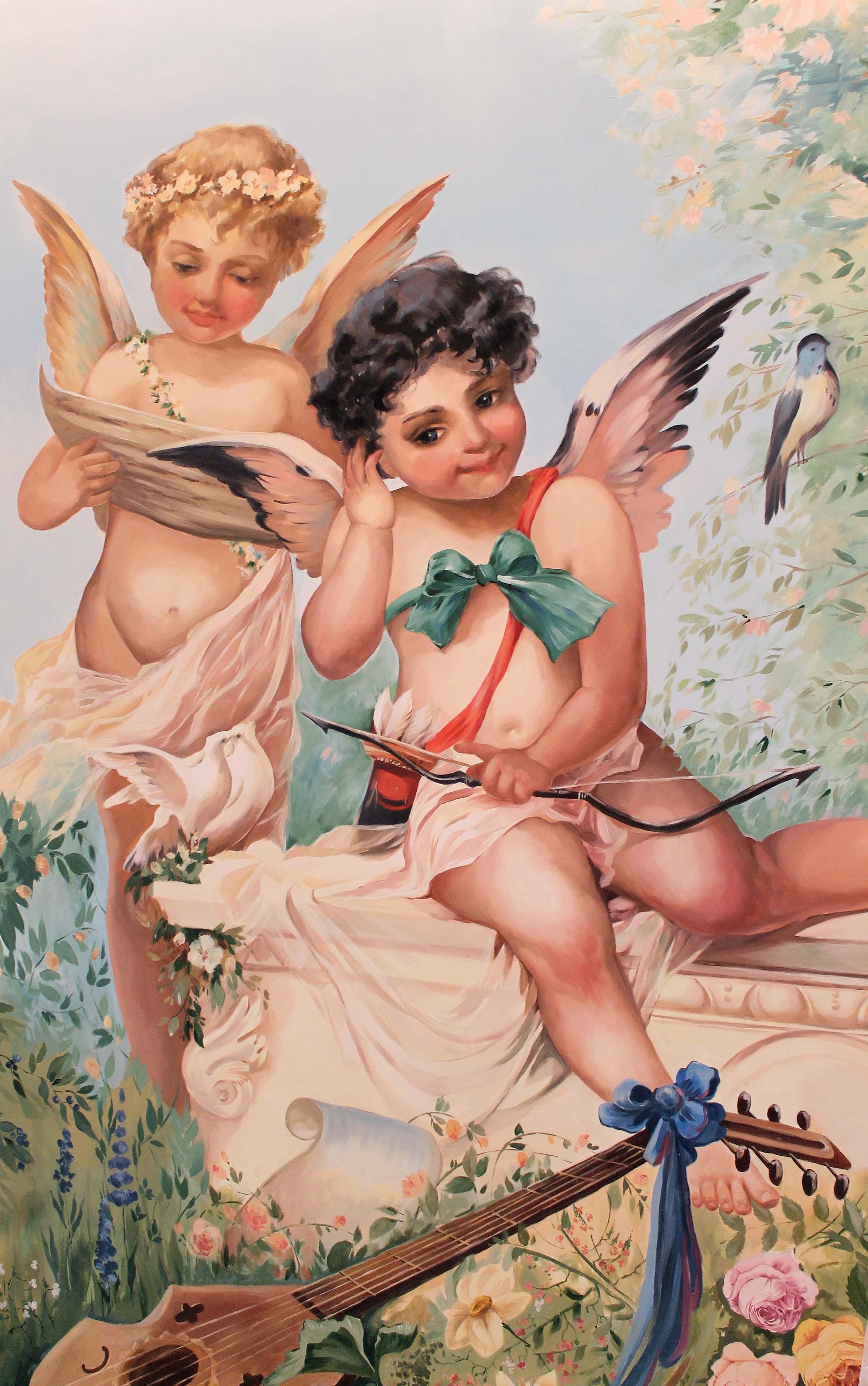 ежегодно картинки античные ангелочки услуг для гостей
