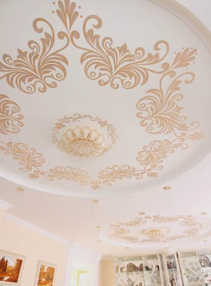 Потолок. Орнаменты