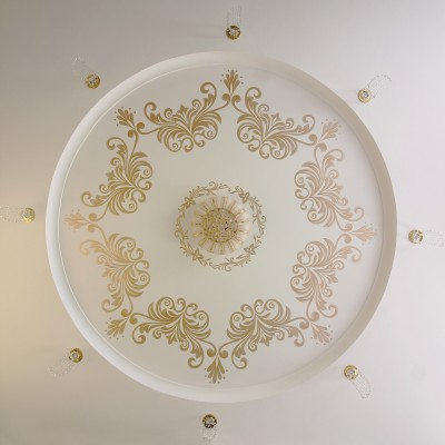 Ceiling. Ornaments