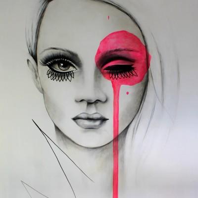 Piercing gaze