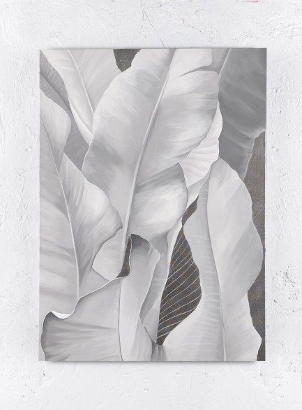 Silver leaves