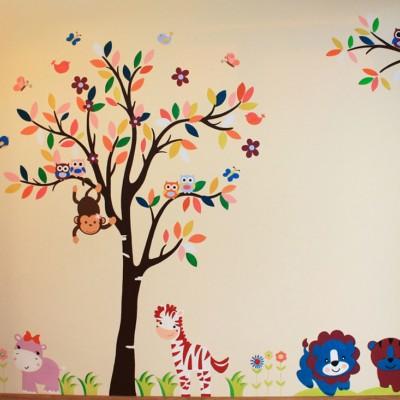 Дерево. Детская