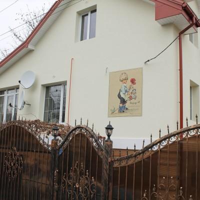 Фасад по иллюстрации Лунгерса Хаузена