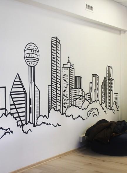 Графика. Город