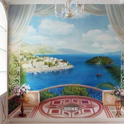 Греческий пейзаж