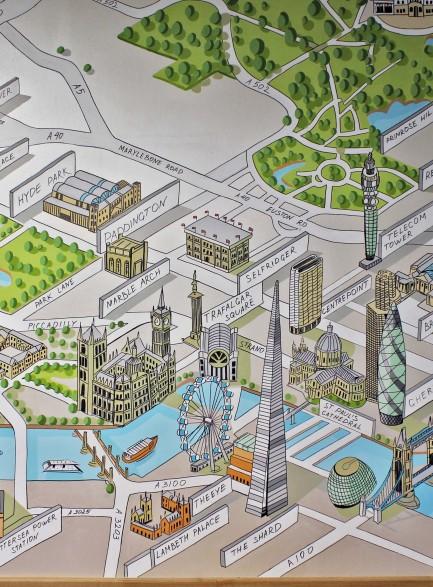 Лондон. Карта