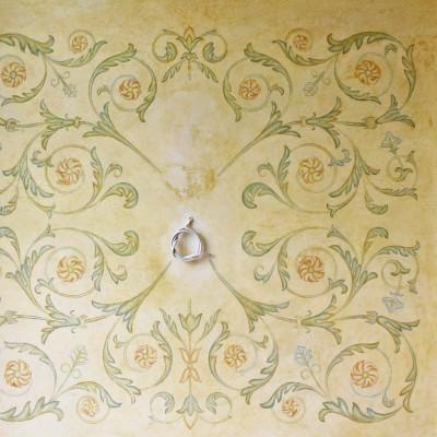 Орнаменты. Имитация фрески