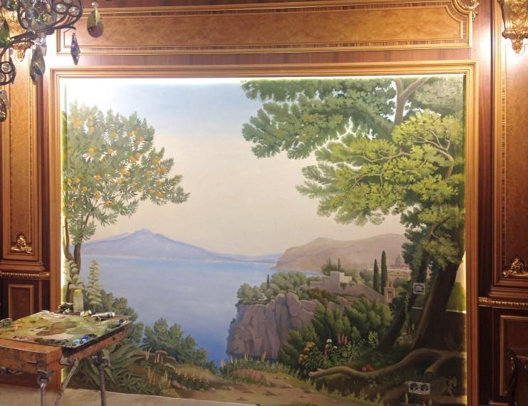 Пейзаж Средиземноморский. Гостиная