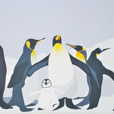 Пингвины. Детская